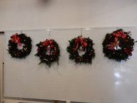 クリスマスリース4個