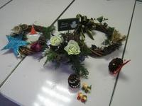 箱根園芸福祉の森クリスマスワークショップ2