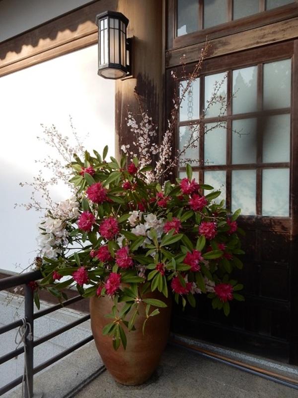 花祭り飾りつけ