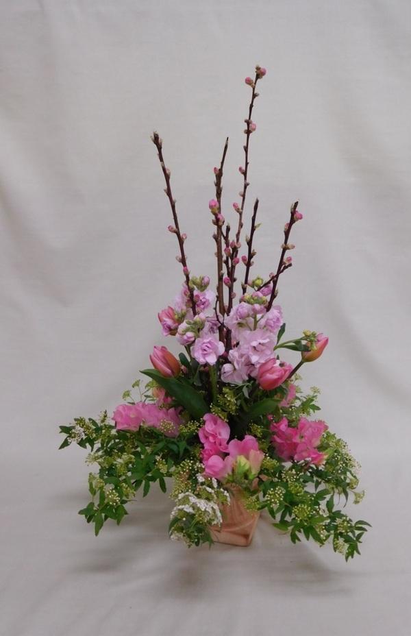 雛祭りアレンジメントのサムネイル