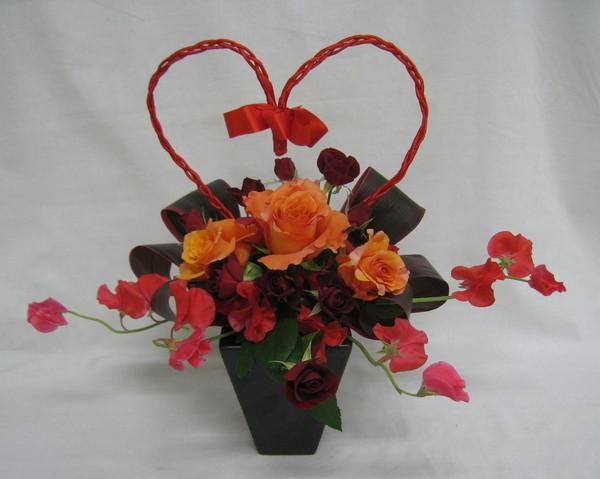 バレンタインアレンジメントのサムネイル