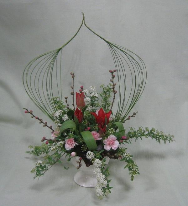 雛祭りのアレンジメントのサムネイル