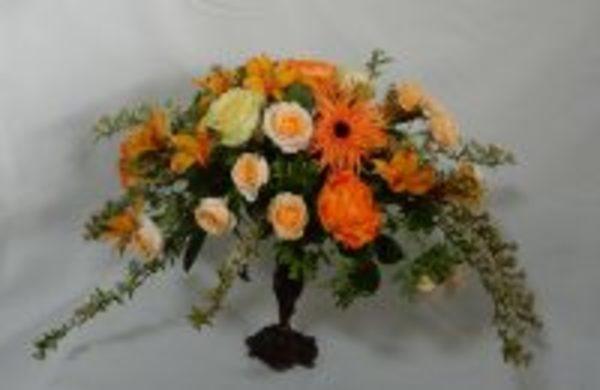 オレンジの花で元気に