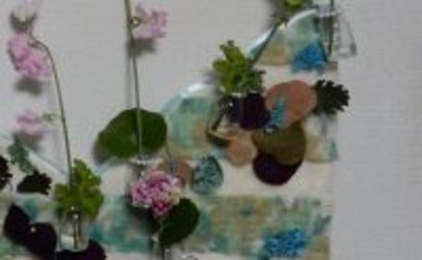 新しい本「幸せ運ぶ 花教室」(仮題)